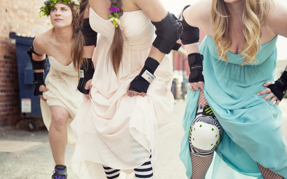 Rock 'n Roll Bridesmaids Styled Shoot