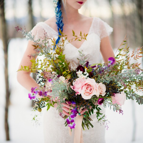 Unique Winter Styled Shoot