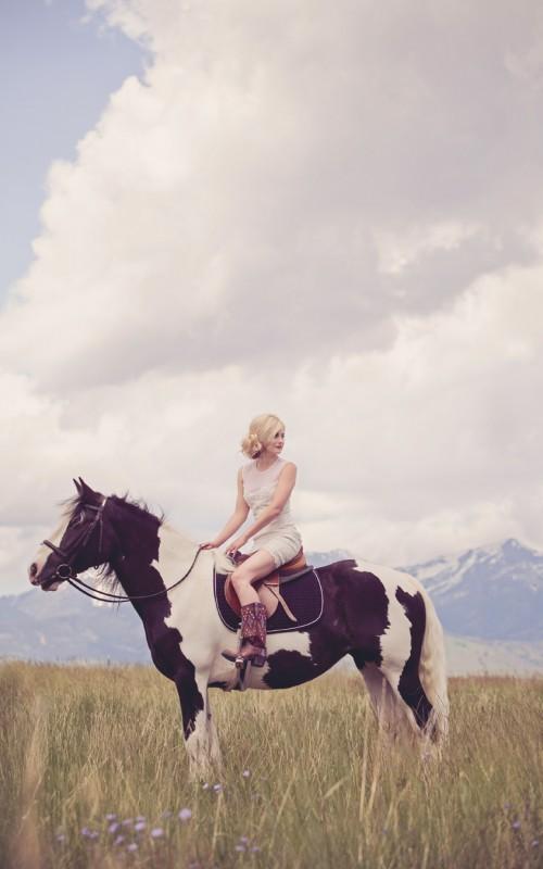 Montana Bride Cover Shoot