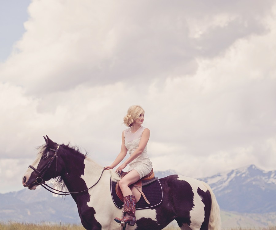 Montana Bride Cover Shoot