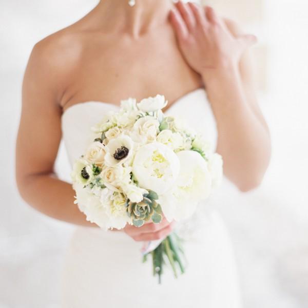 Jodi & Charles' Winter Wedding Flowers