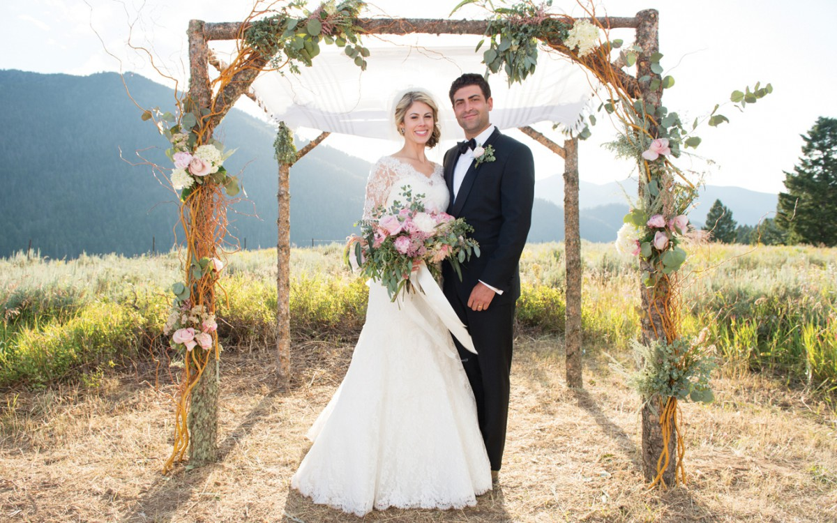 Andrea & Matt's West Yellowstone Wedding