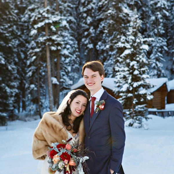 Krystal + Wyatt | Big Sky Winter Wedding