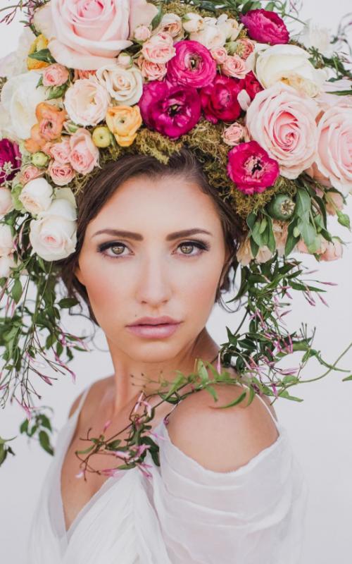 Wearable Flower Art